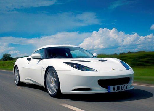 Lotus Evora IPS con cambio automatico a gestione elettronica