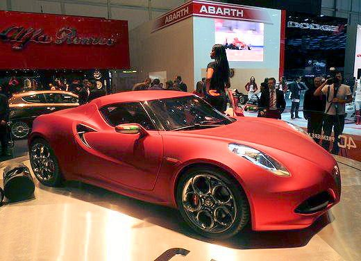 "Alfa Romeo 4C Concept al ""Goodwood Festival of Speed 2011"""