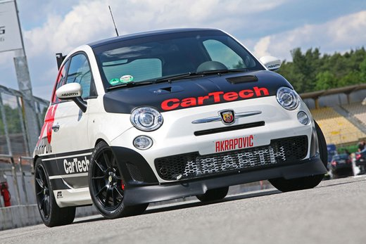 Abarth 500 Coppa by CarTech, furia tedesca da 240 cv - Foto 3 di 13