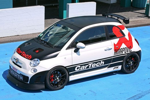 Abarth 500 Coppa by CarTech, furia tedesca da 240 cv - Foto 4 di 13