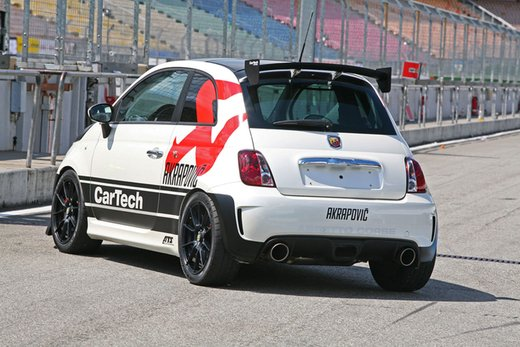 Abarth 500 Coppa by CarTech, furia tedesca da 240 cv - Foto 5 di 13