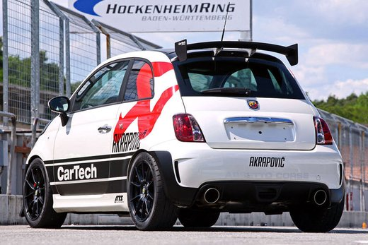 Abarth 500 Coppa by CarTech, furia tedesca da 240 cv - Foto 8 di 13