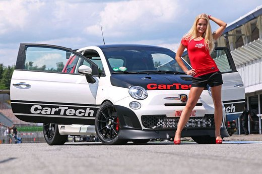 Abarth 500 Coppa by CarTech, furia tedesca da 240 cv - Foto 2 di 13