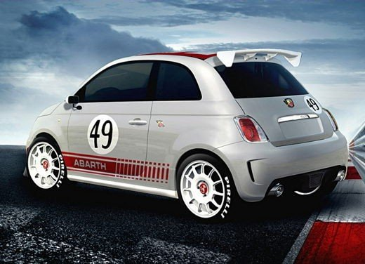 Abarth 500 Coppa by CarTech, furia tedesca da 240 cv - Foto 12 di 13