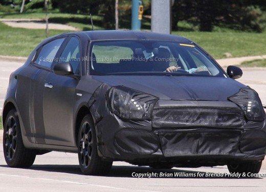 Alfa Romeo Giulietta Versione Usa Con Marchio Dodge Sorpresa Durante