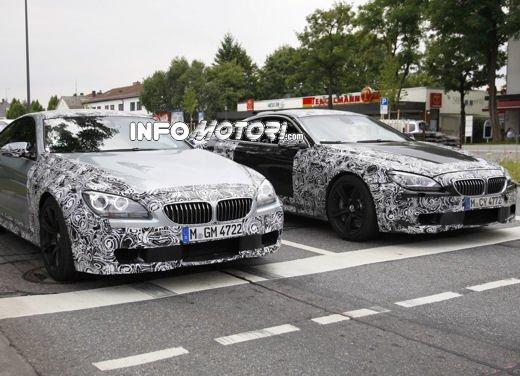 BMW M6 Coupé: nuove foto spia della potente coupé