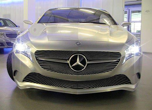 Prime foto degli interni della Nuova Mercedes Classe A - Foto 9 di 19