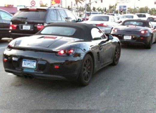 Porsche Boxster 2013: continuano i collaudi