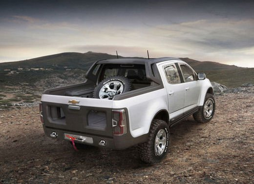 Chevrolet Colorado Rally Concept - Foto 10 di 12