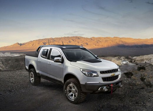 Chevrolet Colorado Rally Concept - Foto 11 di 12