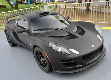 Lotus Exige in versione limitata nero opaco al Pebble Beach 2011 - Foto 8 di 22
