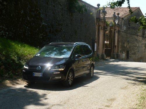 Nuova Volkswagen Sharan Long Test Drive - Foto 5 di 17