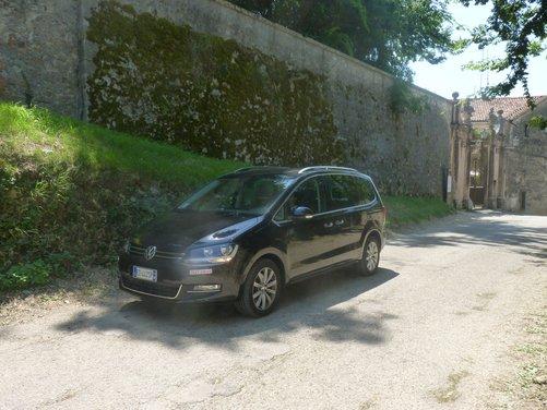 Nuova Volkswagen Sharan Long Test Drive - Foto 6 di 17