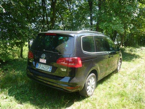 Nuova Volkswagen Sharan Long Test Drive - Foto 7 di 17