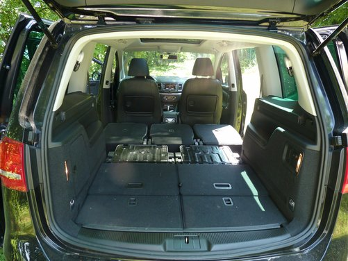 Nuova Volkswagen Sharan Long Test Drive - Foto 10 di 17