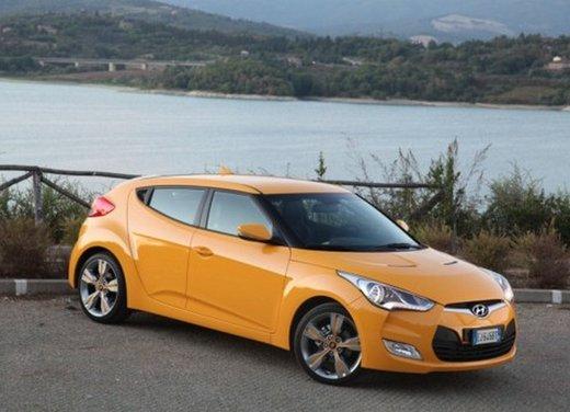 Hyundai Veloster: test drive del coupé con una porta in più