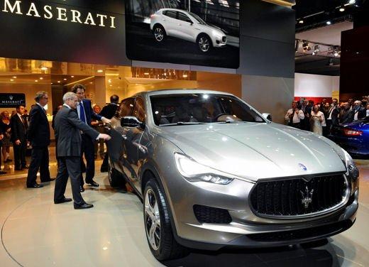 Maserati Kubang al Salone di Detroit 2012 - Foto 15 di 26