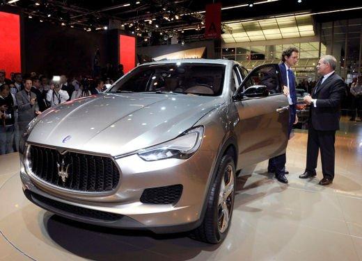 Maserati Kubang al Salone di Detroit 2012 - Foto 17 di 26