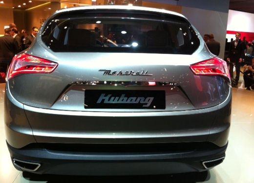 Maserati Kubang al Salone di Detroit 2012 - Foto 20 di 26