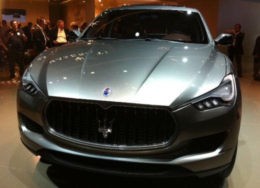 Maserati Kubang al Salone di Detroit 2012 - Foto 22 di 26