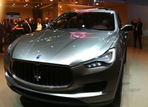 Maserati Kubang al Salone di Detroit 2012 - Foto 23 di 26