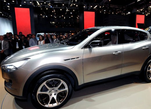 Maserati Kubang al Salone di Detroit 2012 - Foto 25 di 26