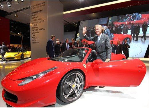 Ferrari al Salone di Francoforte con 458 Spider