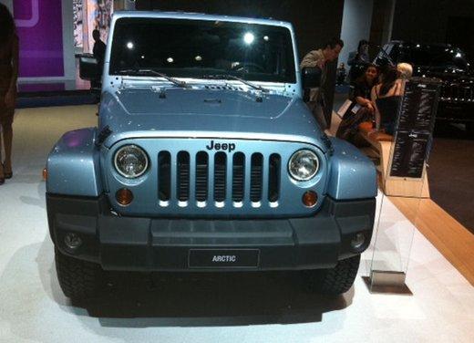 Jeep Wrangler Arctic disponibile da un prezzo di 36.850 Euro - Foto 11 di 23