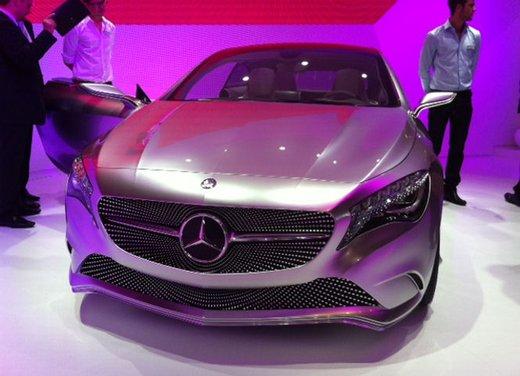 Mercedes Classe A: nuove immagini inedite della concept