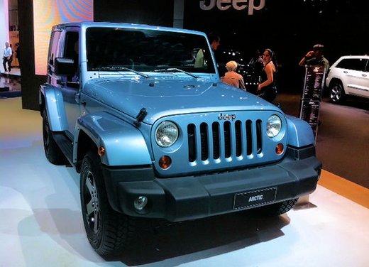 Jeep Wrangler Arctic disponibile da un prezzo di 36.850 Euro - Foto 9 di 23
