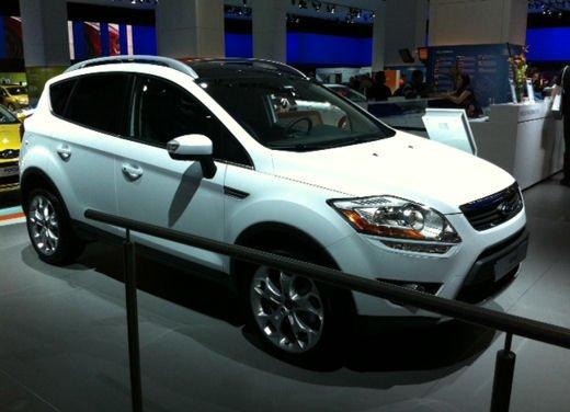 Nuova Ford Kuga al Salone di Francoforte 2011