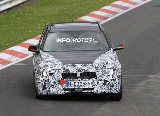 BMW Serie 3 Touring video spia al Nürburgring - Foto 1 di 7