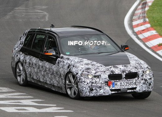 BMW Serie 3 Touring video spia al Nürburgring - Foto 2 di 7