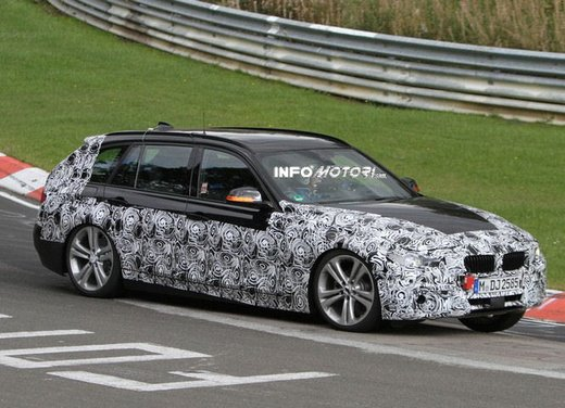 BMW Serie 3 Touring video spia al Nürburgring - Foto 3 di 7