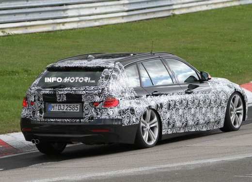 BMW Serie 3 Touring video spia al Nürburgring - Foto 6 di 7