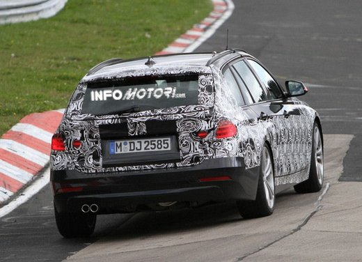 BMW Serie 3 Touring video spia al Nürburgring - Foto 7 di 7