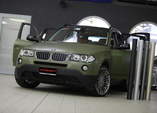 BMW X3 Military Green by Romeo Ferraris