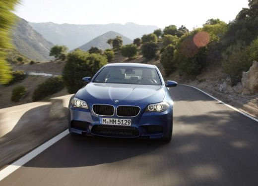 Nuova BMW M5, test drive a Misano Adriatico - Foto 8 di 20