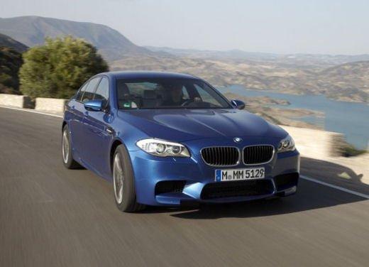 Nuova BMW M5, test drive a Misano Adriatico - Foto 10 di 20