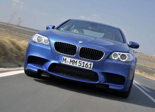 Nuova BMW M5, test drive a Misano Adriatico - Foto 17 di 20