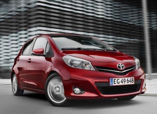 Nuova Toyota Yaris 2012, ecco il listino prezzi ufficiale per l'Italia