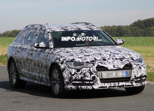 Audi A6 Avant Allroad: prime foto spia della A6 wagon a trazione integrale