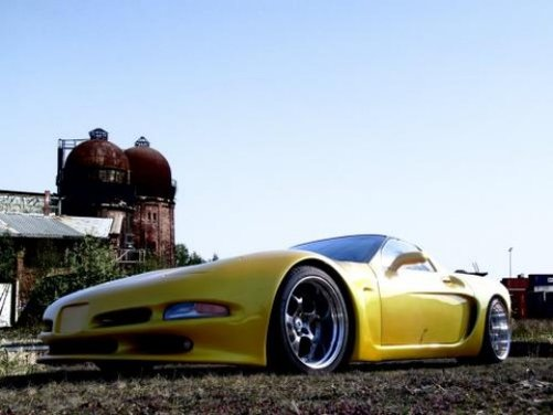 Chevrolet Corvette C5 kit retrò by Wittera - Foto 10 di 11