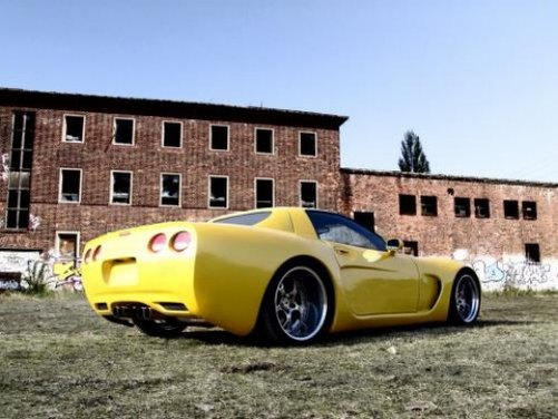 Chevrolet Corvette C5 kit retrò by Wittera - Foto 5 di 11