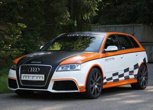 Audi RS3 by MTM da 472 CV e 292 km/h