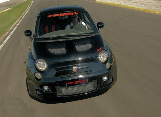 Kit Cinquone Replica disponibile per Fiat 500 Abarth
