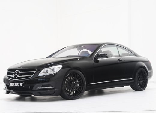 Mercedes CL 500 4Matic by Brabus, 520 CV e 300 km/h