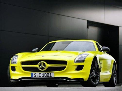 Mercedes SLS AMG BlackSeries video spia al Nürburgring - Foto 11 di 16