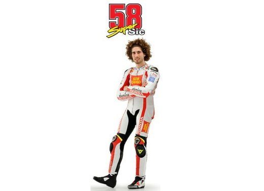 Al GP di Valencia tutti in pista col 58 di Marco Simoncelli - Foto 37 di 42