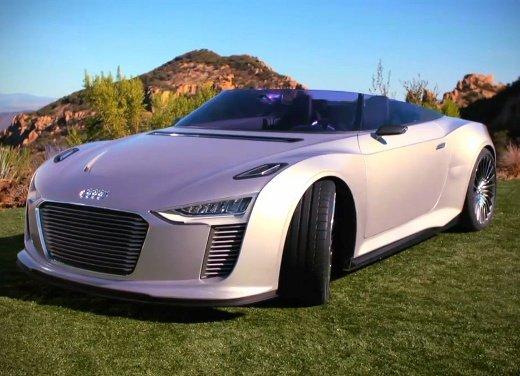 Audi e-tron Spyder sulle strade della California